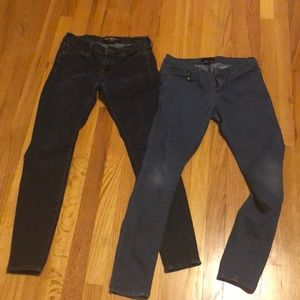 Sz26/2 LUCKY & FOREVER 21 skinny jeans bundle